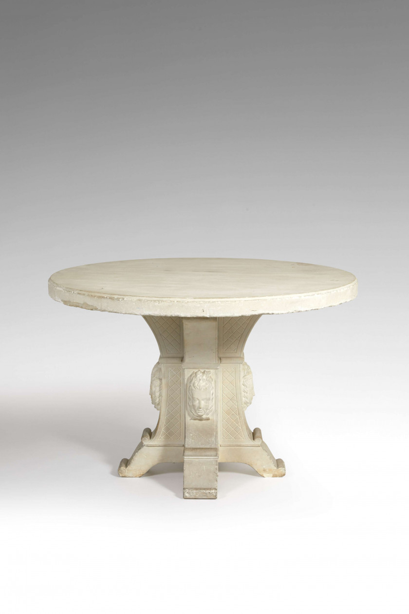 Georges SOUTIRAS & Joseph MONIN (1906-1990); (1903-2000) Table - Circa 1949