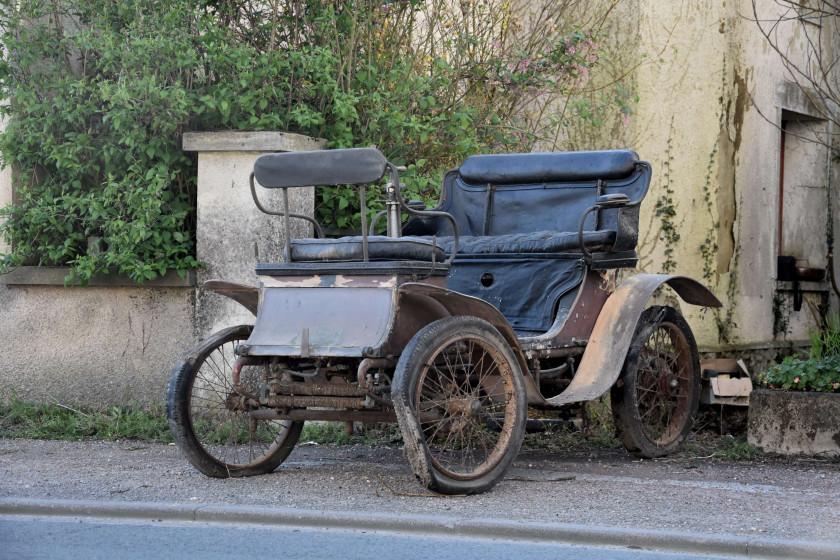 1900  ド デュオン ブートン Vis-à-vis Type E