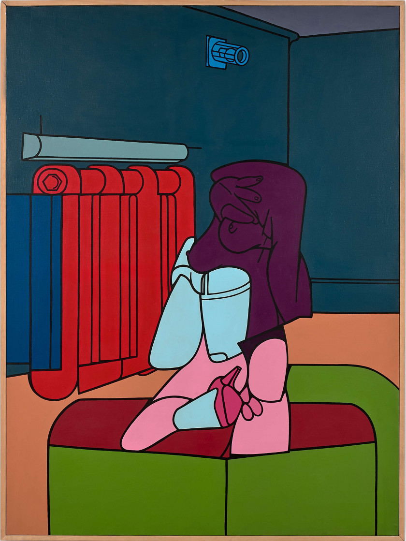 Valerio ADAMI (Né en 1935) LES JOIES DE L'ADULTERE - 1970