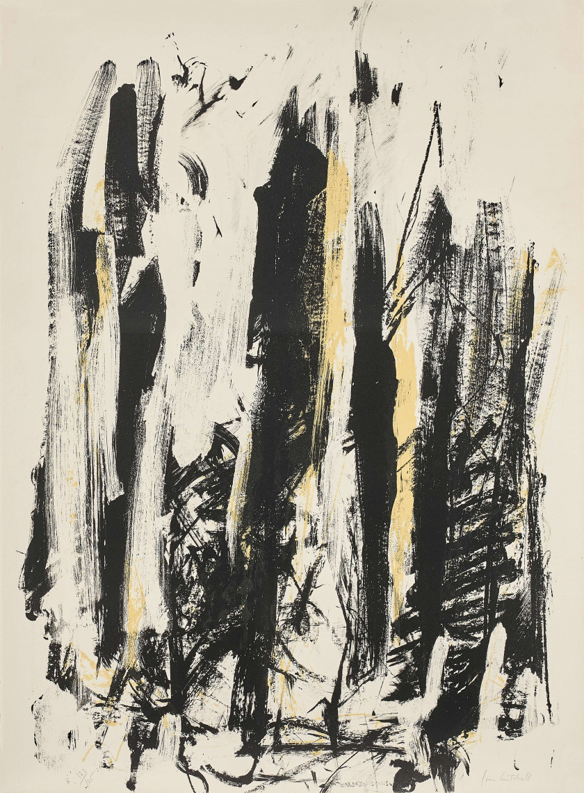 Joan MITCHELL (1925 - 1992) Trees - 1992