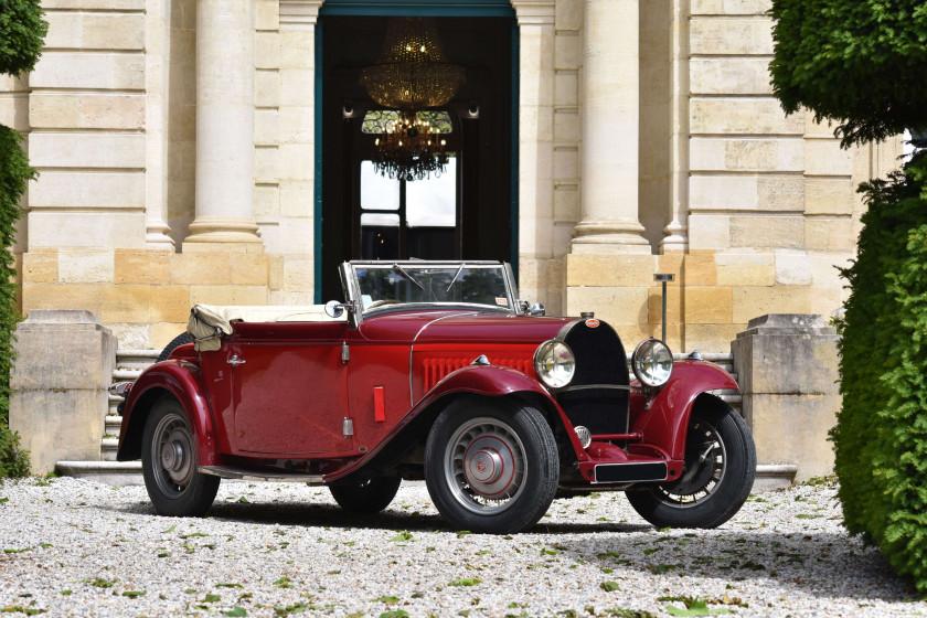 1933 Bugatti Type 49 Cabriolet 4 places