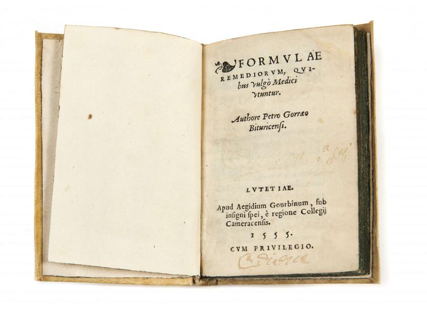 Pierre de GORRIS XVe-XVIe siècle Formulae remediorum