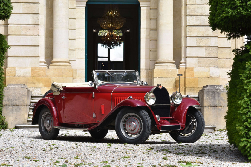 1933 Bugatti Type 49 Cabriolet 4 places