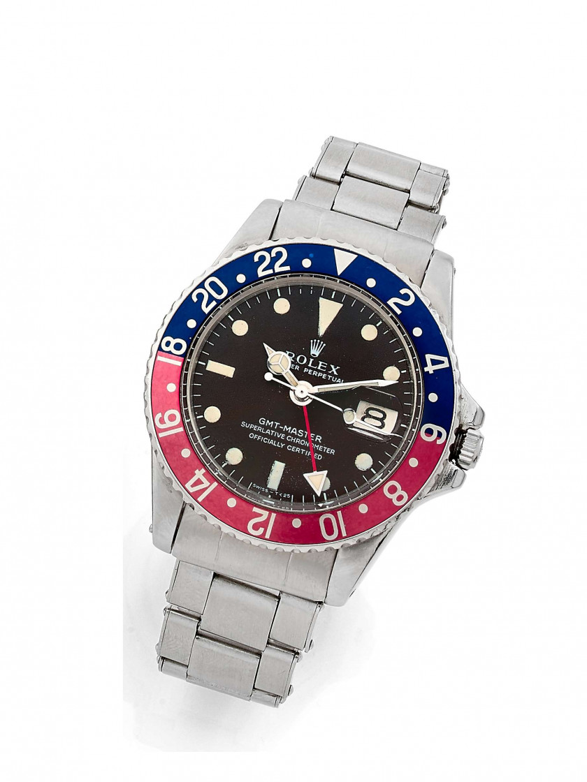 "ROLEX  GMT Master ""Tropical dial"", ref. 1675, n° 2206579"