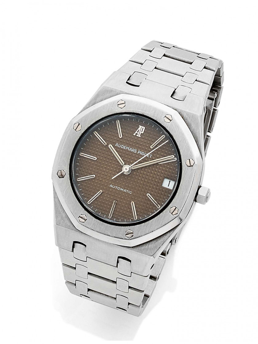 "AUDEMARS PIGUET  Royal Oak, ""Tropical Dial"" ref. 4100ST, n°521"