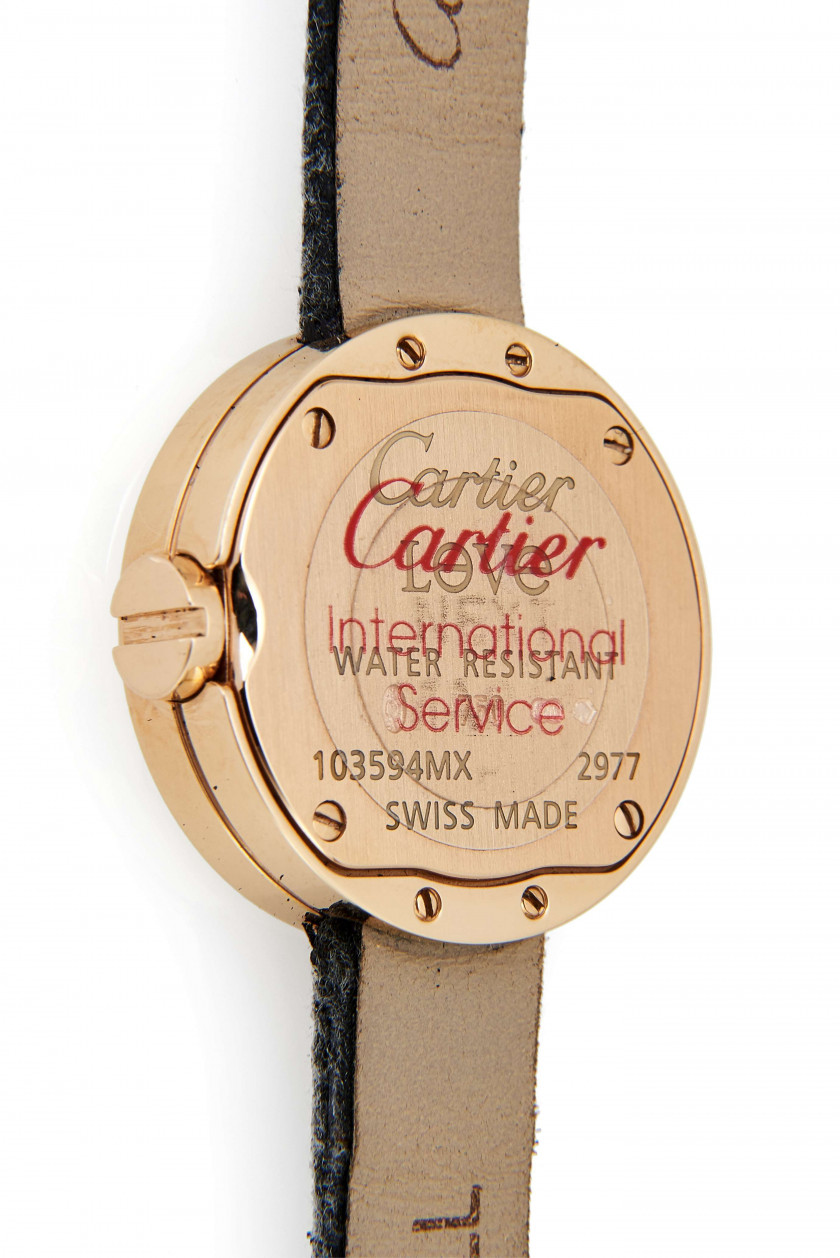 CARTIER  Love, ref. 2977, n° 103594MX