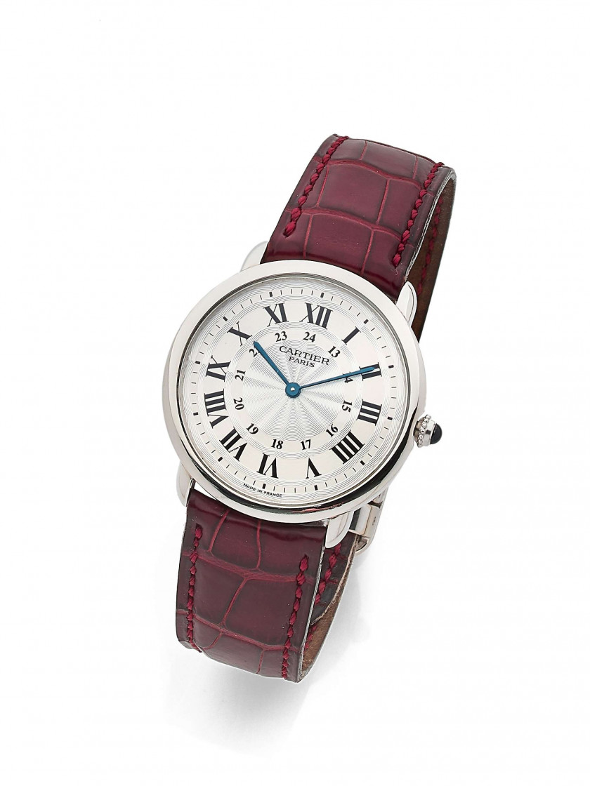 "CARTIER  ""Collection Privée"" Ronde, ref. 2452B, n° 0033AF"