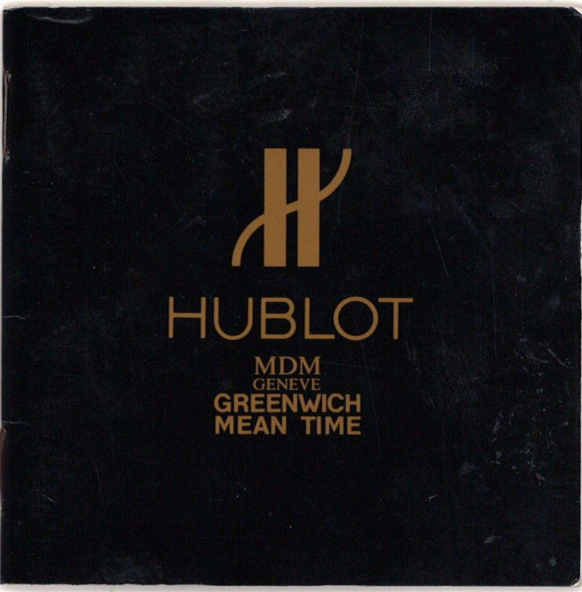 HUBLOT  Greenwich Mean Time, ref. S146103, n° 193823