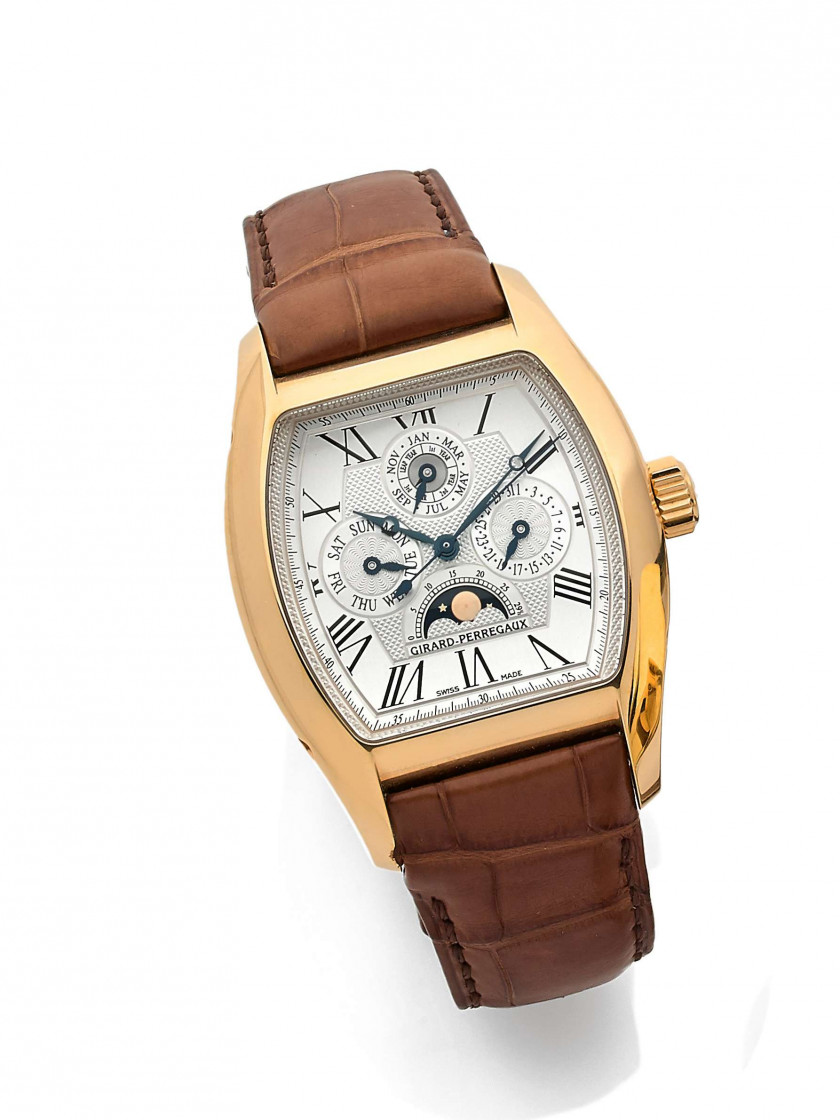 "GIRARD PERREGAUX  ""Limited Edition 10 sets"", ref. 2722"