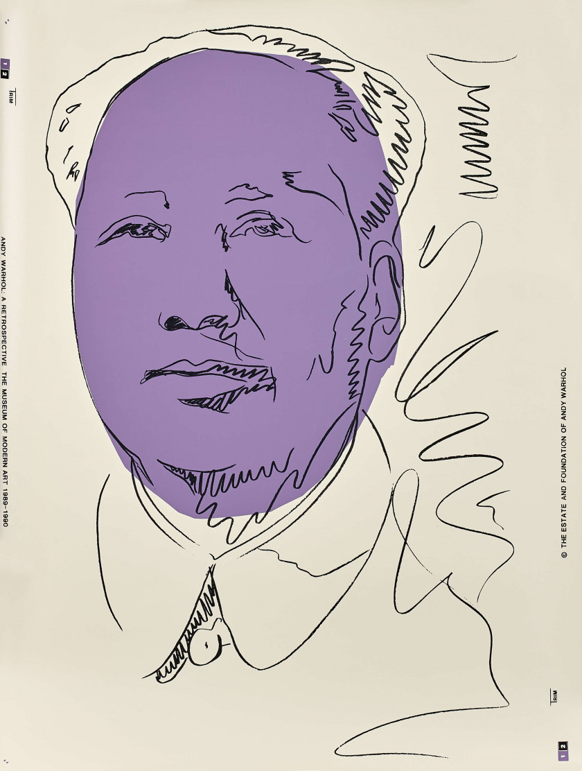 Andy WARHOL 1928 - 1987 Mao - 1989