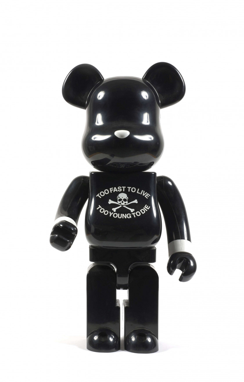 MEDICOM  Be@rBrick 1000% / Mastermind Too fast to live / Too young to die - 2006 ABS