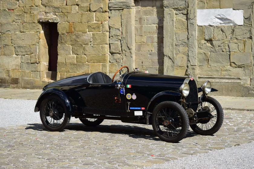 1924 Bugatti Type 23 Tandem Sport