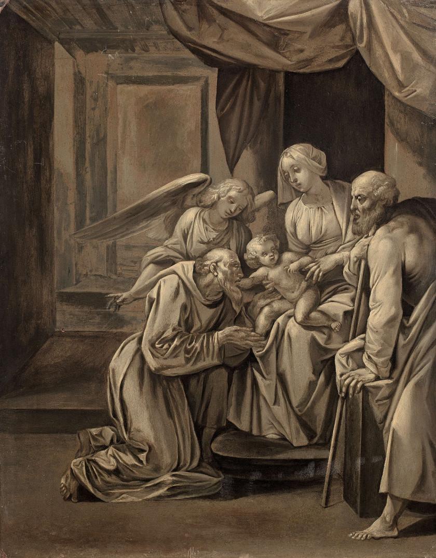 Giuseppe CESARI, dit le Cavalier d'ARPIN Arpino, 1568 - Rome, 1640 La...