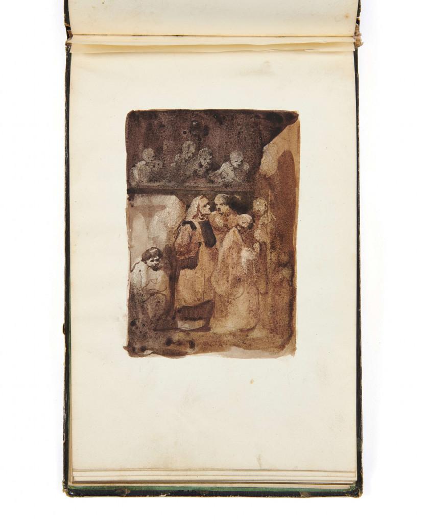 [ALBUM AMICORUM. - NERVAL, Gérard de. GAUTIER, Théophile. LAMARTINE...