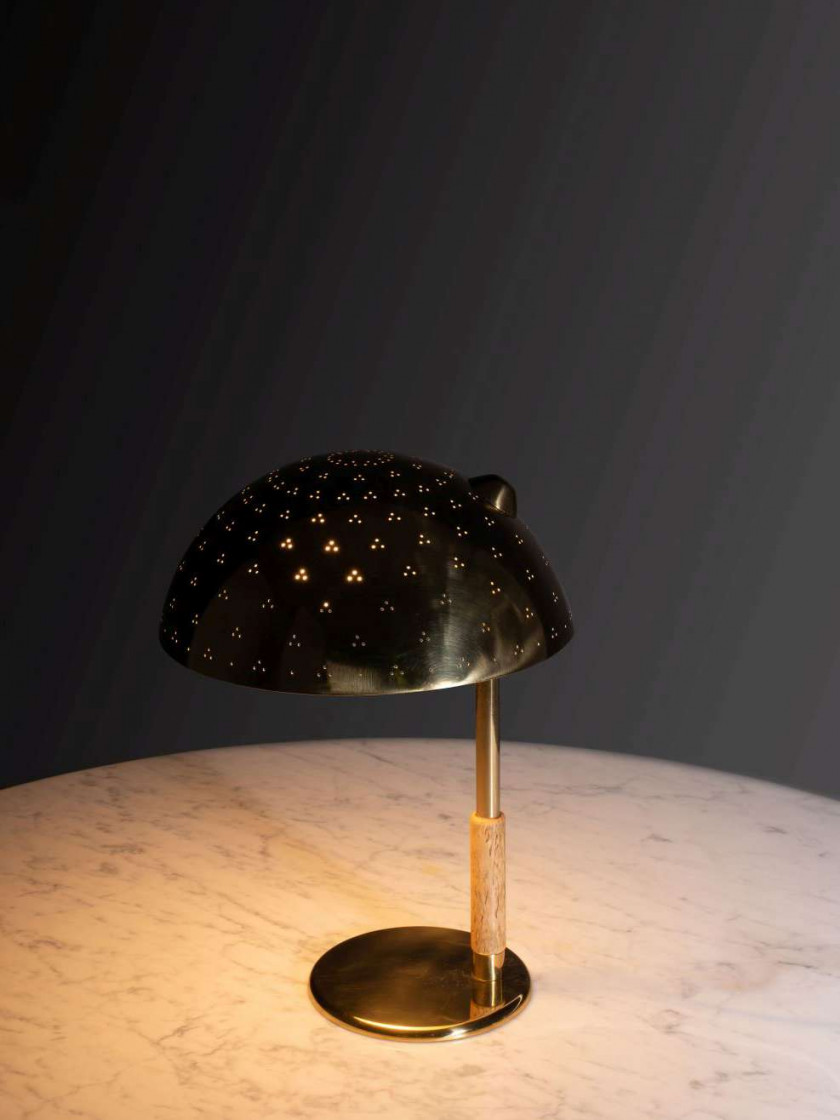 Paavo TYNELL 1890-1973 Lampe de table mod.9216 - Circa 1950