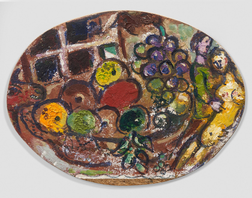 Marc CHAGALL 1887 - 1985 Nature morte aux fruits - Circa 1966