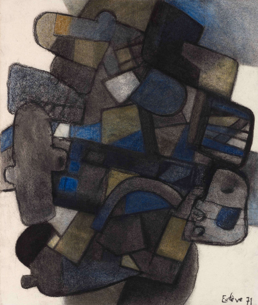 Maurice ESTÈVE (1904 - 2001) FRASTRA - 1971
