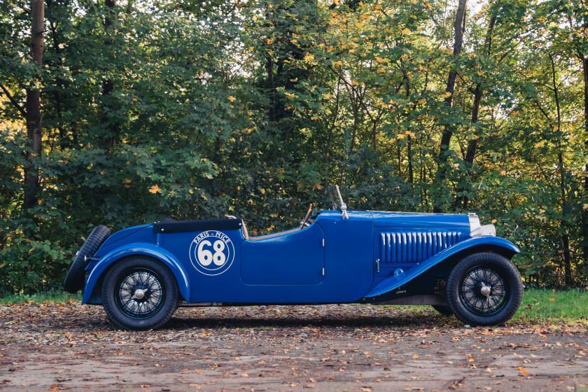 """1935 Bugatti 57 torpédo """"Paris-Nice"""""""