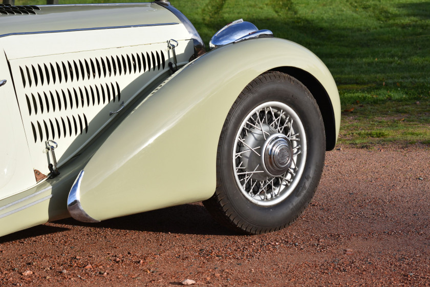 1938 Talbot-Lago T23 Baby Coach Grand Luxe  No reserve