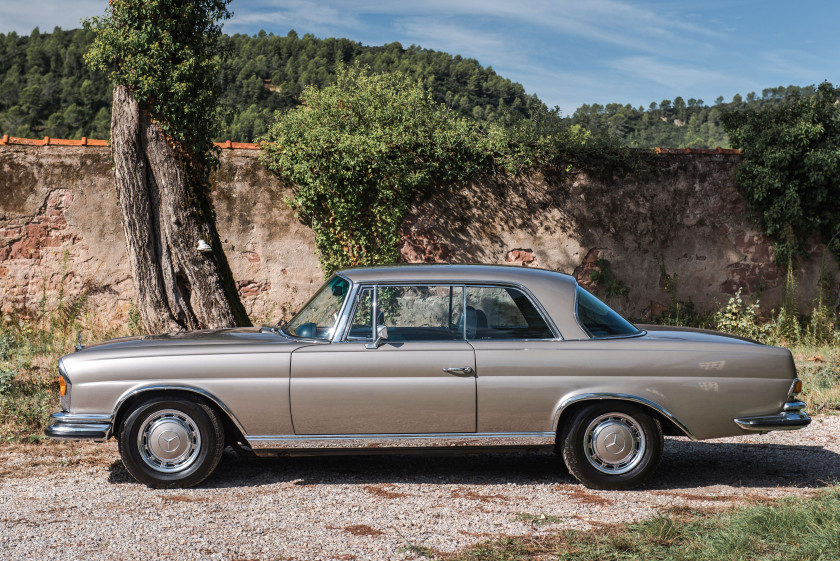 1970 Mercedes-Benz 280 SE 3,5L coupé  No reserve