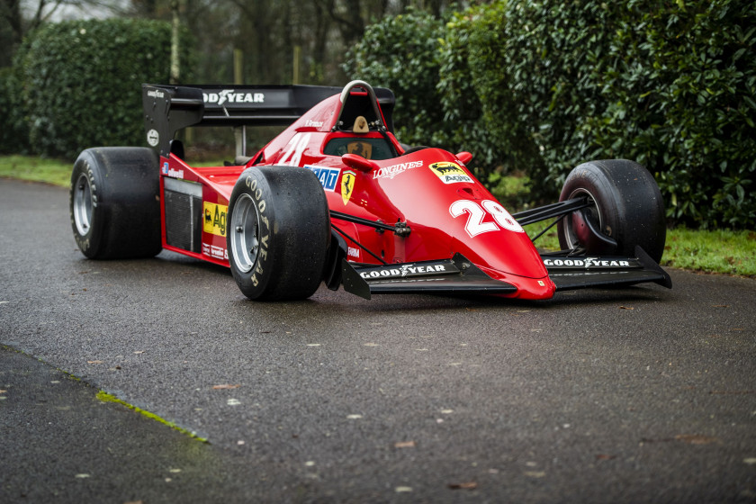1983 Ferrari 126 C3-068 Formule 1