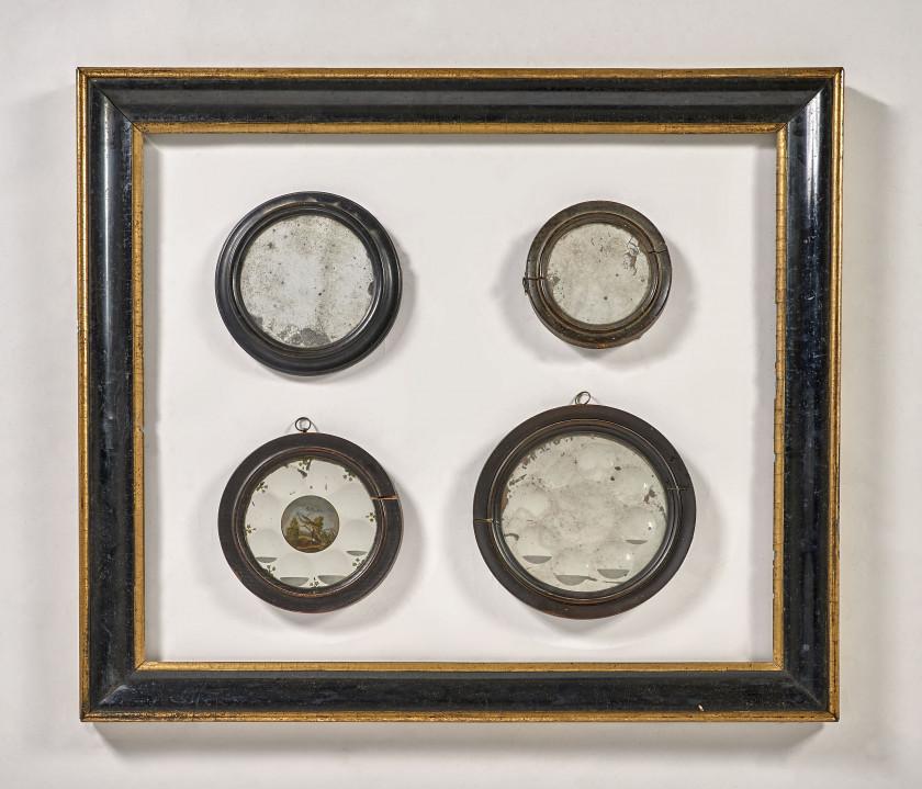 France, XVIIIe siècle Miroir de sorcière