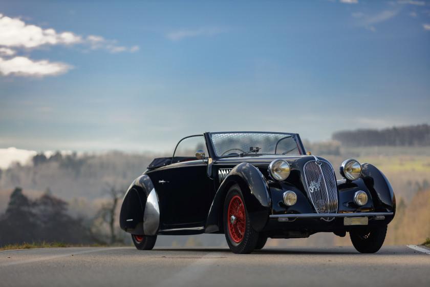 ¤ 1938 Alfa Romeo 6C 2300 B Lungo cabriolet Worblaufen