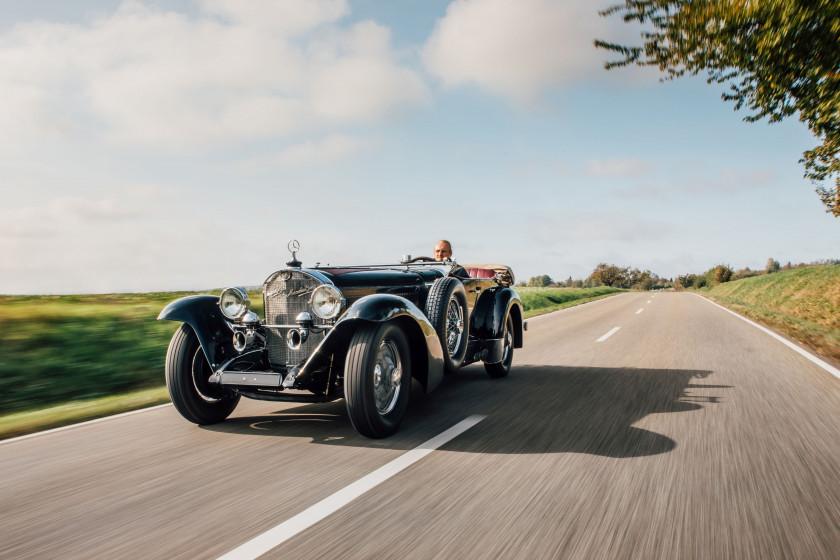 1929 Mercedes-Benz 710 SS 27/140 / 200hp Sport Tourer Bodywork attributed to Fernandez & Darrin (France)