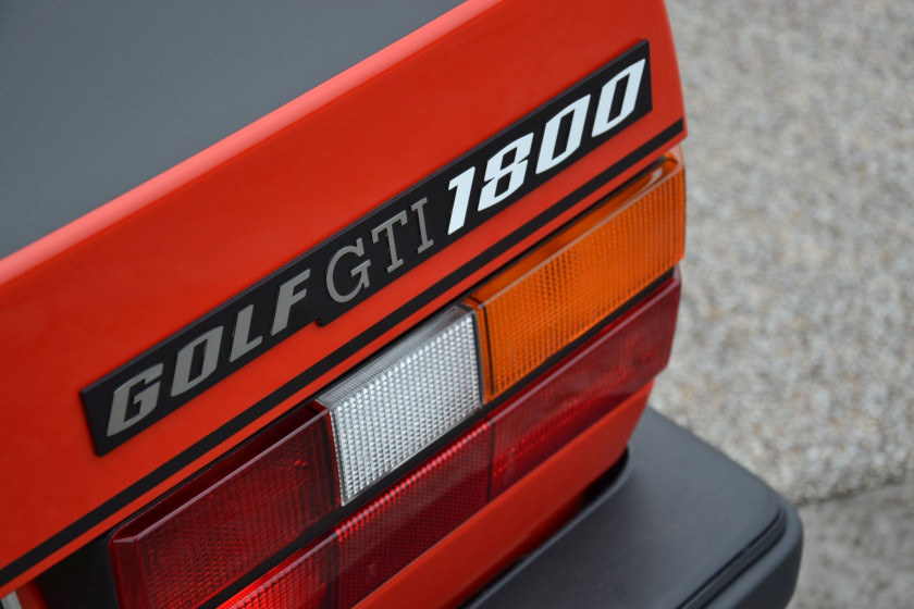 1983 Volkswagen Golf GTI 1 800 Plus Pirelli+  No reserve
