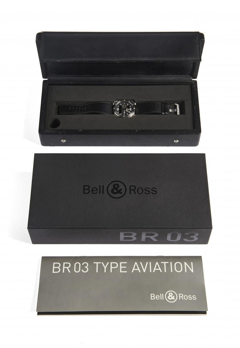 BELL & ROSS  Type Aviation Armée de l'Air, réf. BR03-88, n°037/250, vers 2009