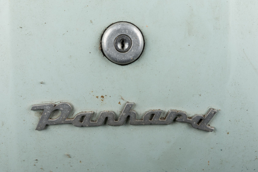 1958 Panhard Dyna Z12 grand standing  No reserve