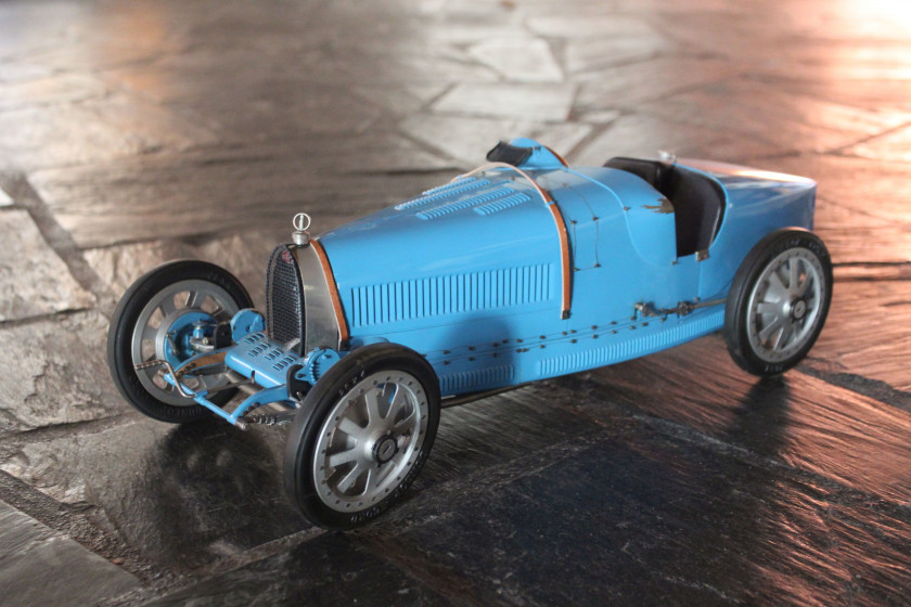 BUGATTI 35 GRAND PRIX DE LYON 1924 No reserve Art Collection Auto, Jean-Paul Fontenelle, à l'échelle 1/8ème