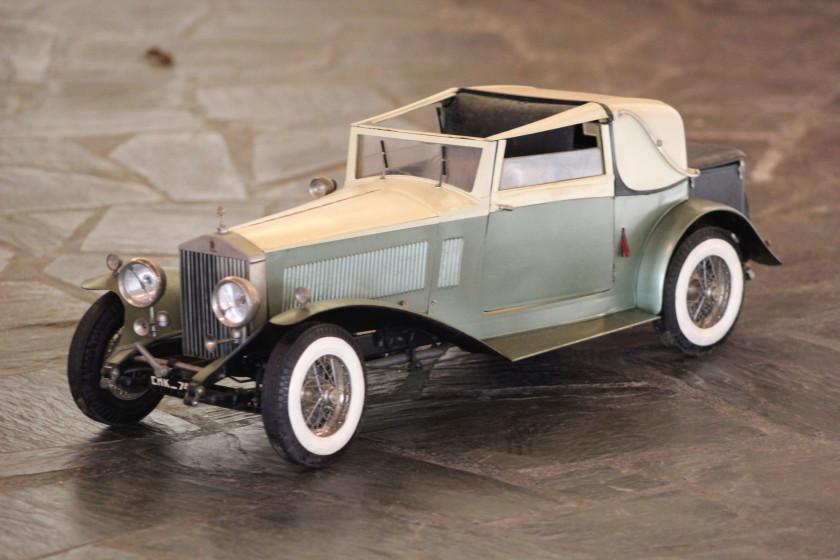 ROLLS-ROYCE PHANTOM II SEDANCA COUPE 1932 No reserve Maquette à l'échelle...