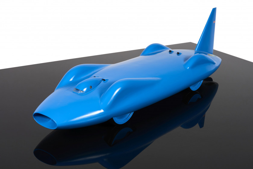 BLUEBIRD-PROTEUS CN7  Voiture des Records. Fabrication moderne