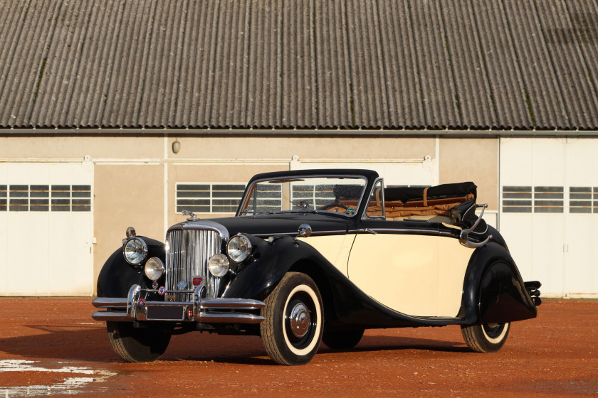 1950 Jaguar Mark V 3.5L cabriolet  No reserve
