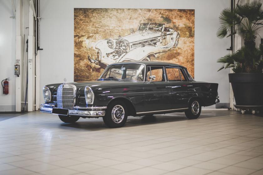 1963 Mercedes-Benz 220 SE Berline No reserve