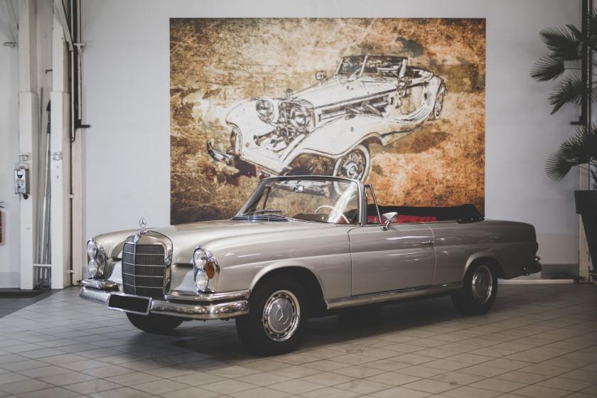 1963 Mercedes-Benz 220 SE Cabriolet No reserve