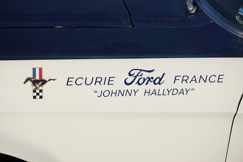 1967 Ford Mustang GT 390 Coupé Gr. I Ex-Johnny Hallyday/ Ecurie Ford France