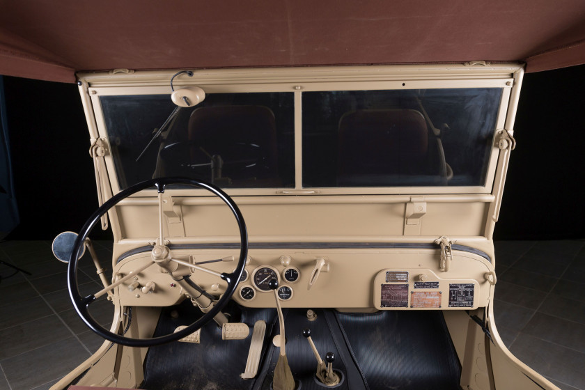1957 Hotchkiss Jeep Willys M201  No reserve