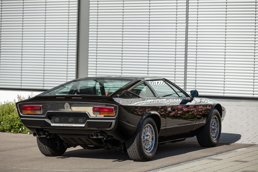 1977 Maserati Khamsin T-Top one-off  No reserve