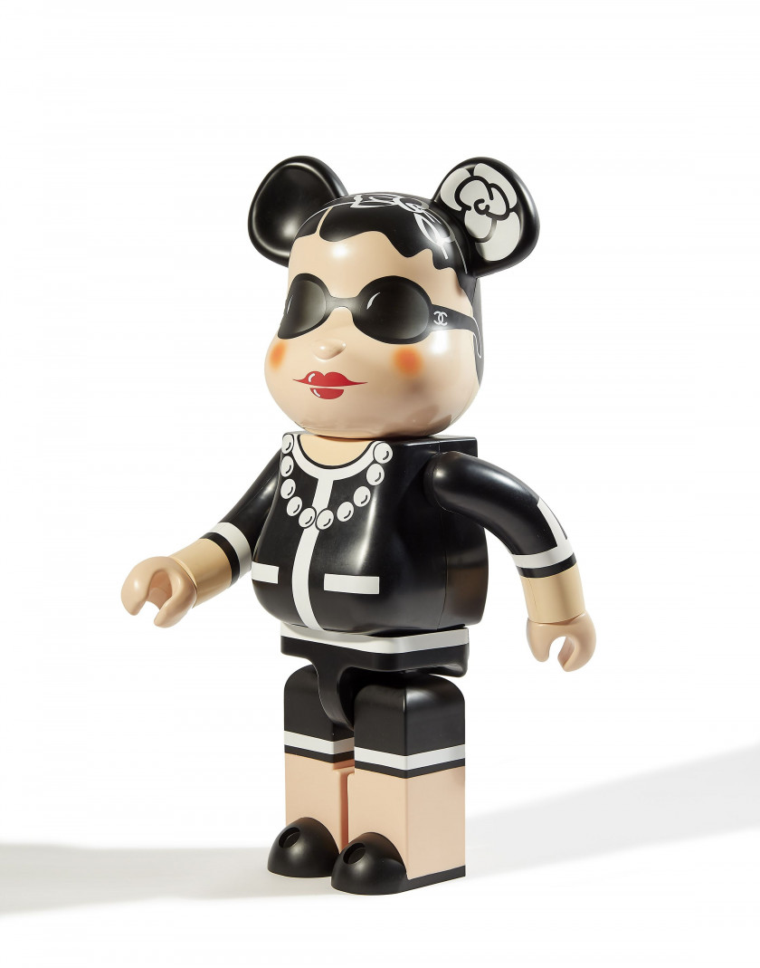 MEDICOM x CHANEL  Love is big, Love is Be@rbrick 1000% - 2007 ABS