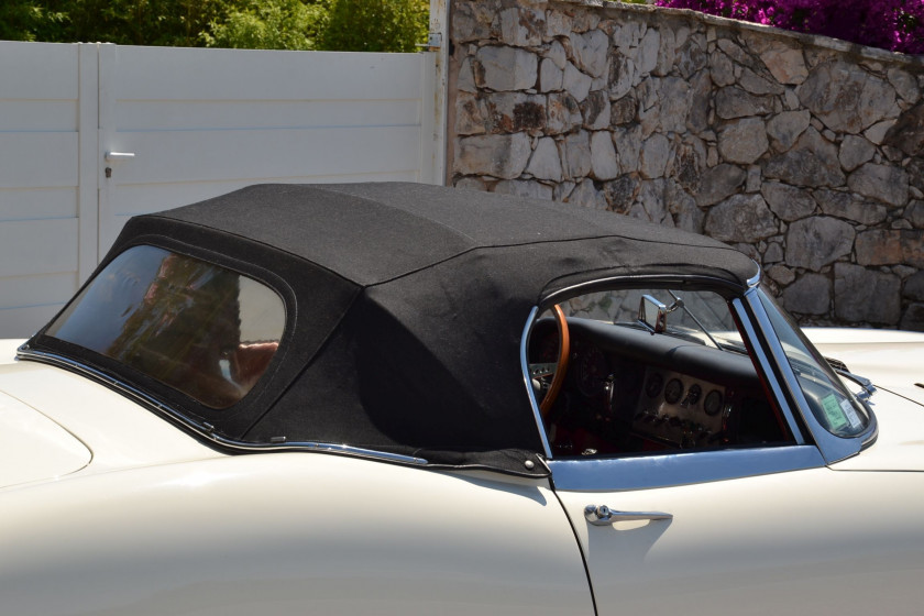 1962 Jaguar Type E 3.8 Roadster avec Hard-top