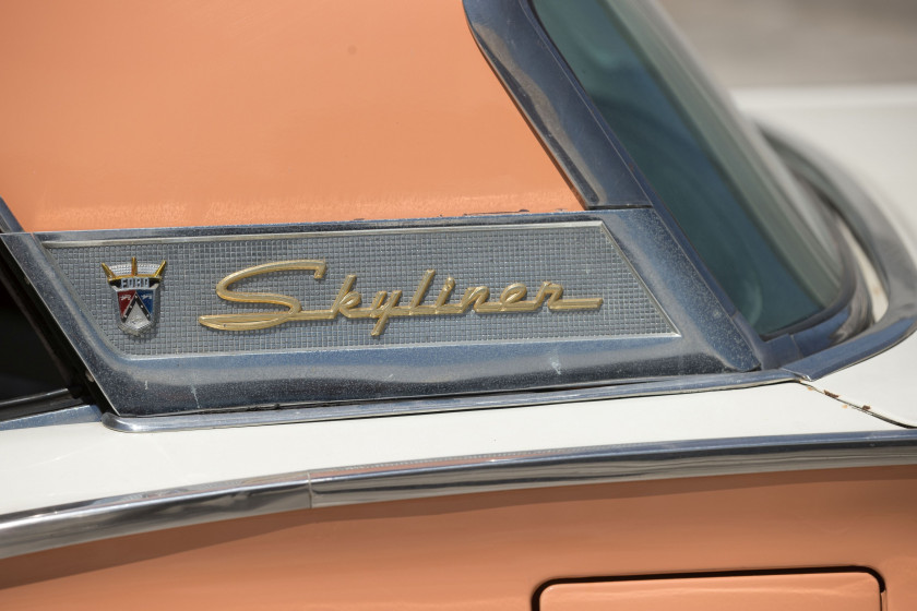 1957 Ford Fairlane 500 Skyliner  No reserve