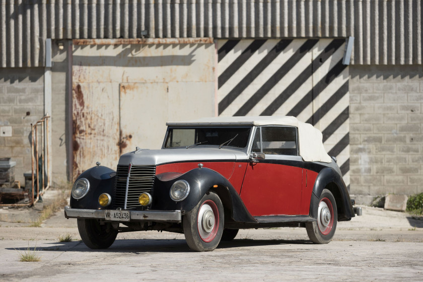 1947 Armstrong-Siddeley Hurricane 16 HP cabriolet  No reserve