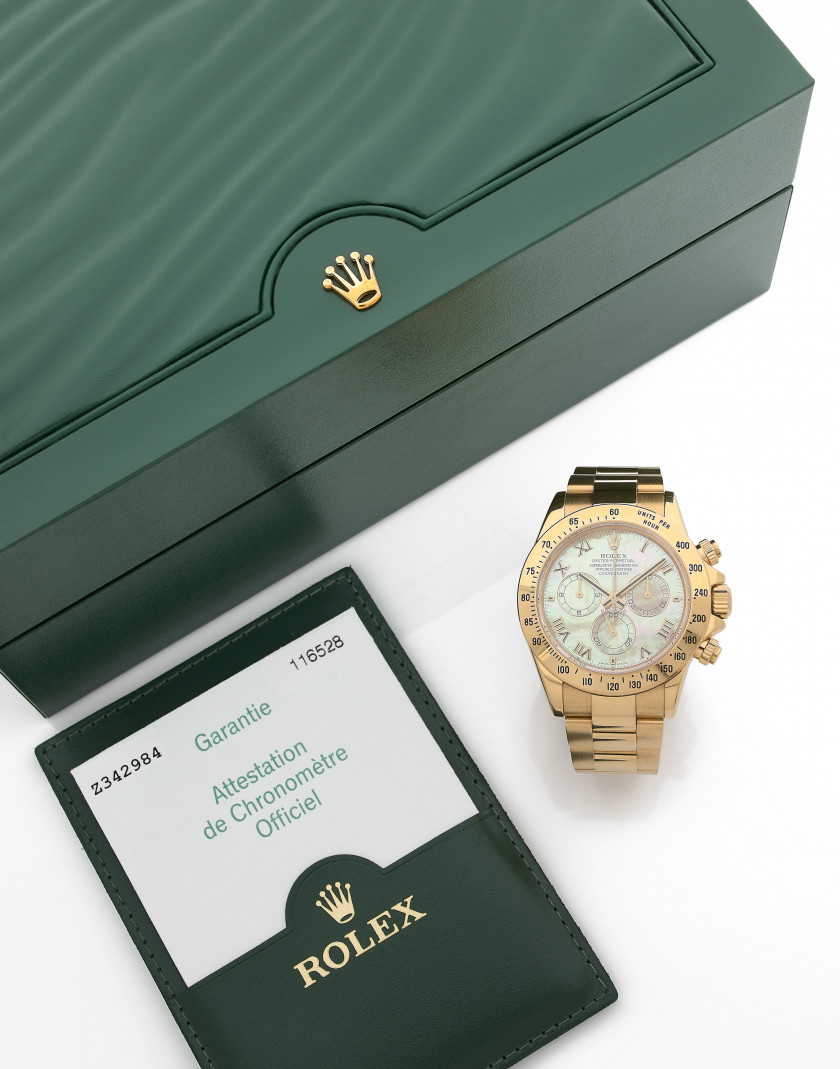 "ROLEX  Daytona ""Mother of Pearl"", réf. 116528, n° Z342984"
