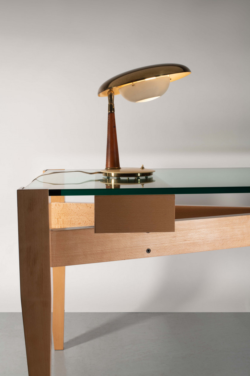 Angelo LELII 1911-1979 Lampe de table - circa 1956